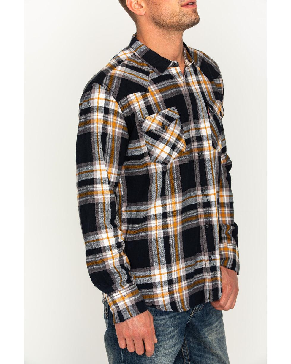 Levi's Men's Tuscaloosa Plaid Button Down Shirt, Olive, hi-res
