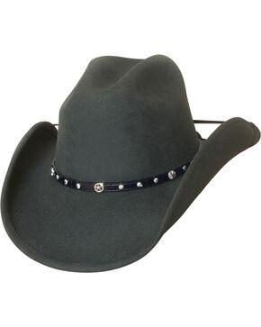 Bullhide Balled Up Premium Wool Classic Cowboy Hat , Grey, hi-res