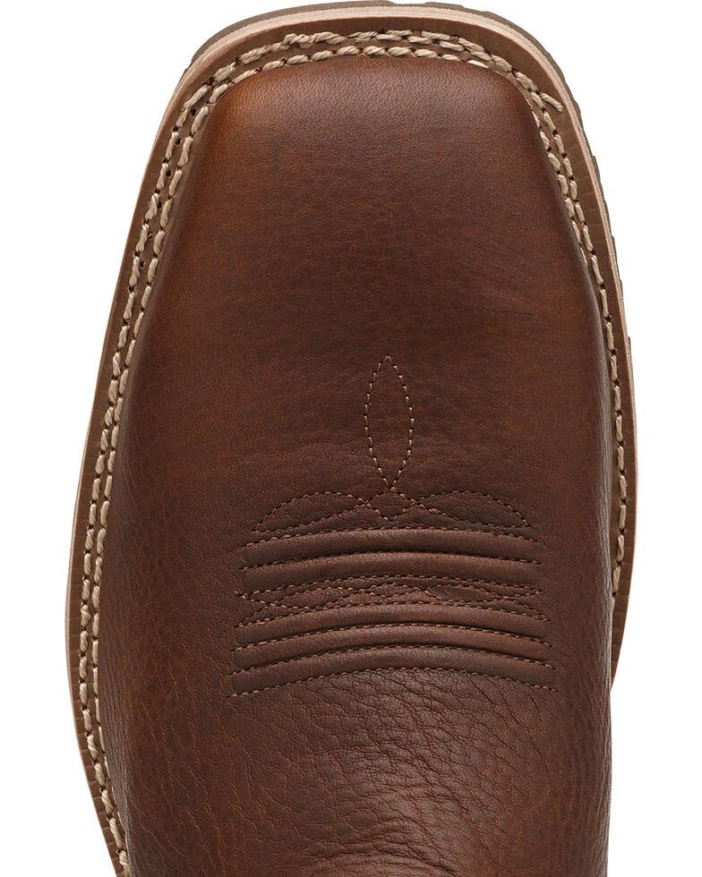 Ariat Hybrid All Weather Waterproof Neoprene Work Boots - Steel Toe, Oiled Rust, hi-res
