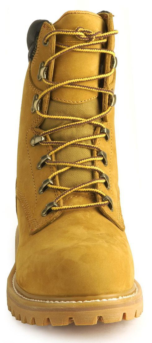 "Chippewa IQ Waterproof 8"" Lace-Up Work Boots - Steel Toe, Nubuck, hi-res"