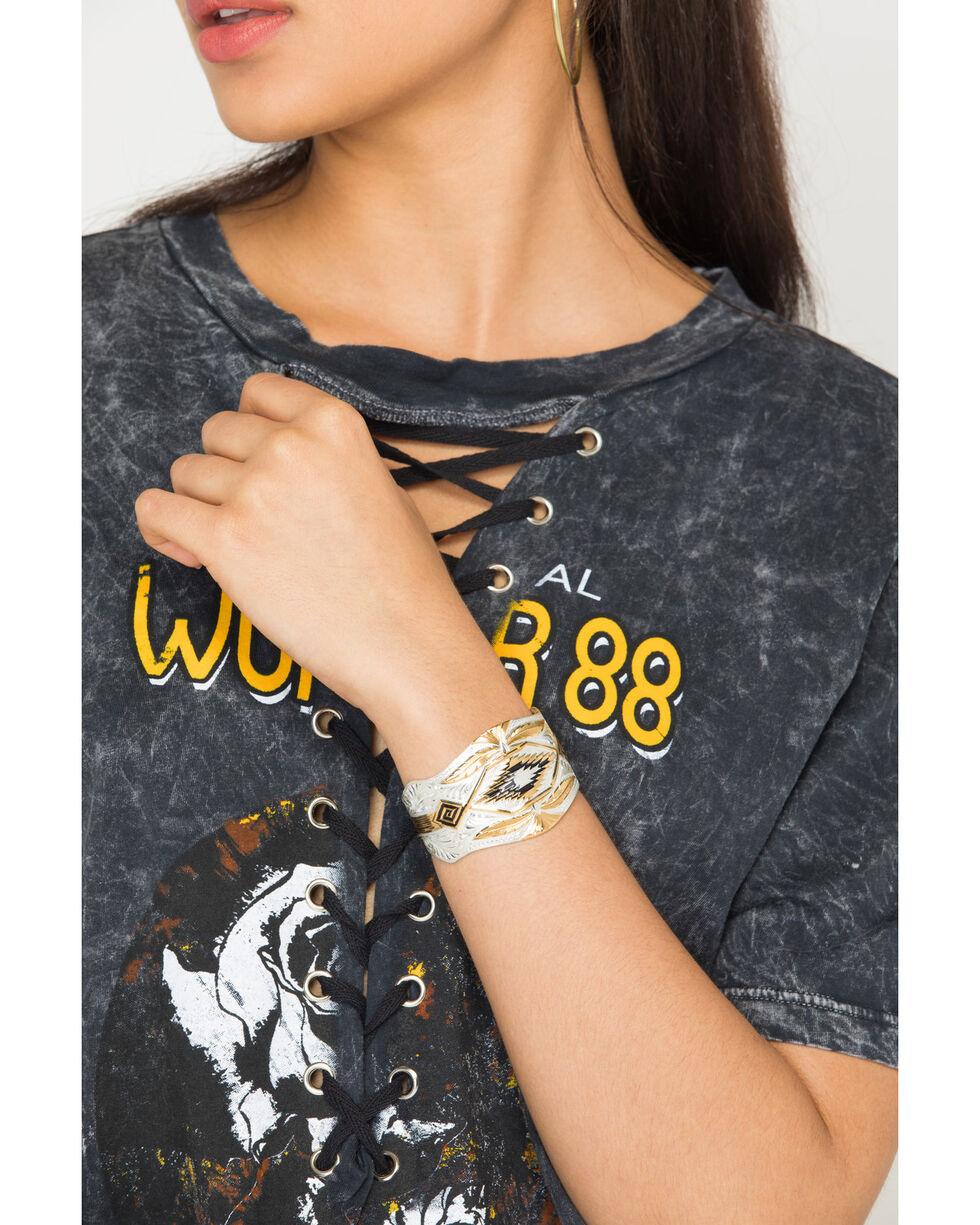 Montana Silversmiths Desert Eagle Cuff Bracelet, Silver, hi-res