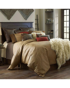 HiEnd Accents Brighton Full Size 4-Piece Bedding Set, Tan, hi-res