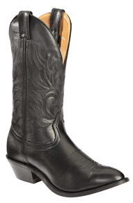 Boulet Men's Challenger Cowboy Boots - Medium Toe, Black, hi-res