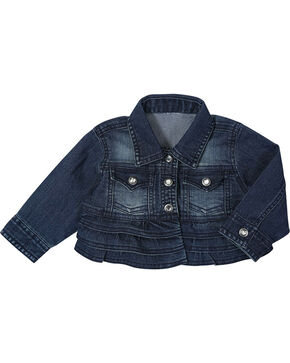 Wrangler Toddler Girls' Denim Jacket, Blue, hi-res