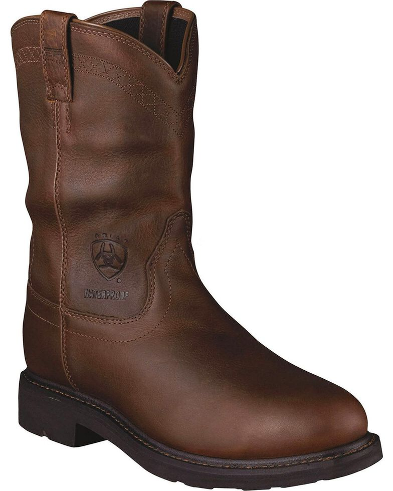 bb55701bd9e Ariat Sierra Waterproof Pull-On Work Boots - Steel Toe