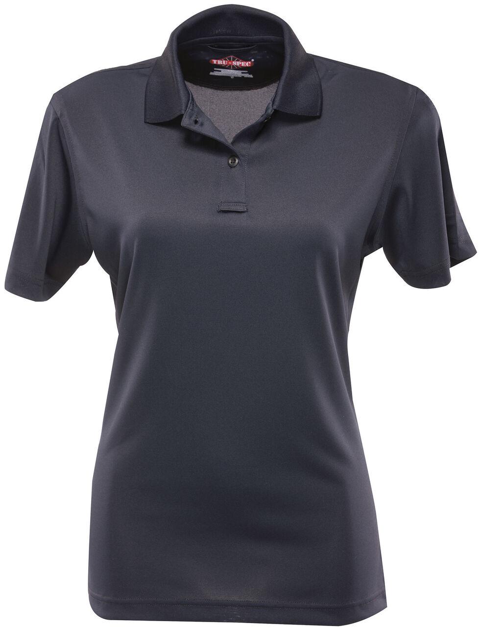 Tru-Spec Women's 24-7 Series Performance Polo Shirt, Navy, hi-res