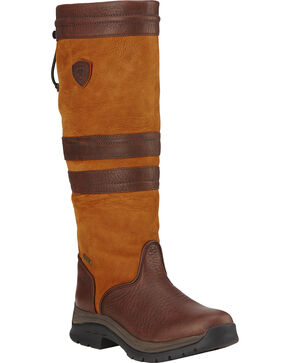 Ariat Women's Braemar GTX Insulated Boots, Teak, hi-res