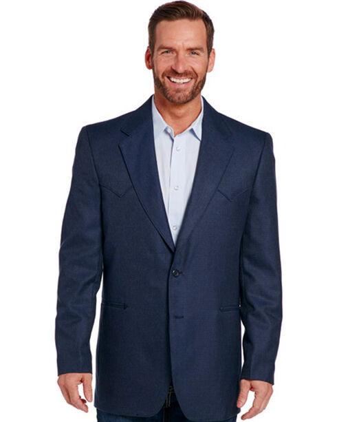 Circle S Men's Navy Carson City Sport Coat - Tall, Navy, hi-res
