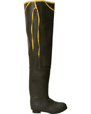 Lacrosse Men's Trapline Hip Wader Boots - Round Toe , Olive, hi-res