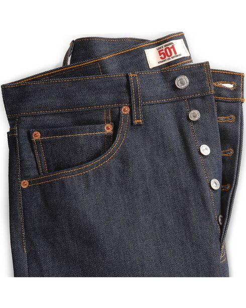 Levi's 501 Jeans - Original Shrink-to-Fit, Indigo, hi-res
