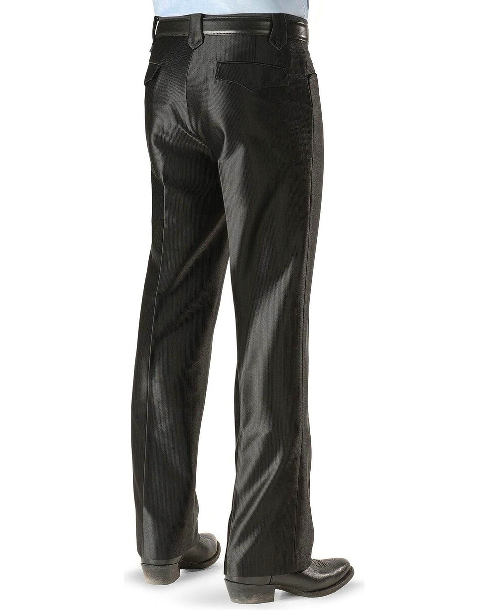 Circle S Boise Western Suit Slacks - Big, Black, hi-res