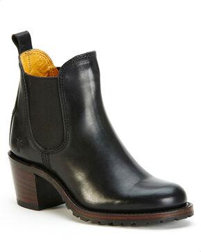 Frye Women's Black Sabrina Chelsea Boots - Round Toe , Black, hi-res