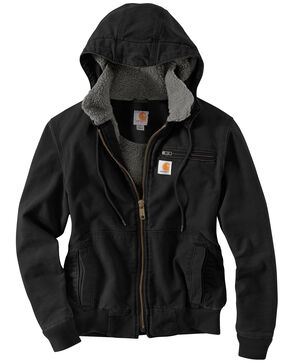 Carhartt Weathered Duck Wildwood Jacket, Black, hi-res