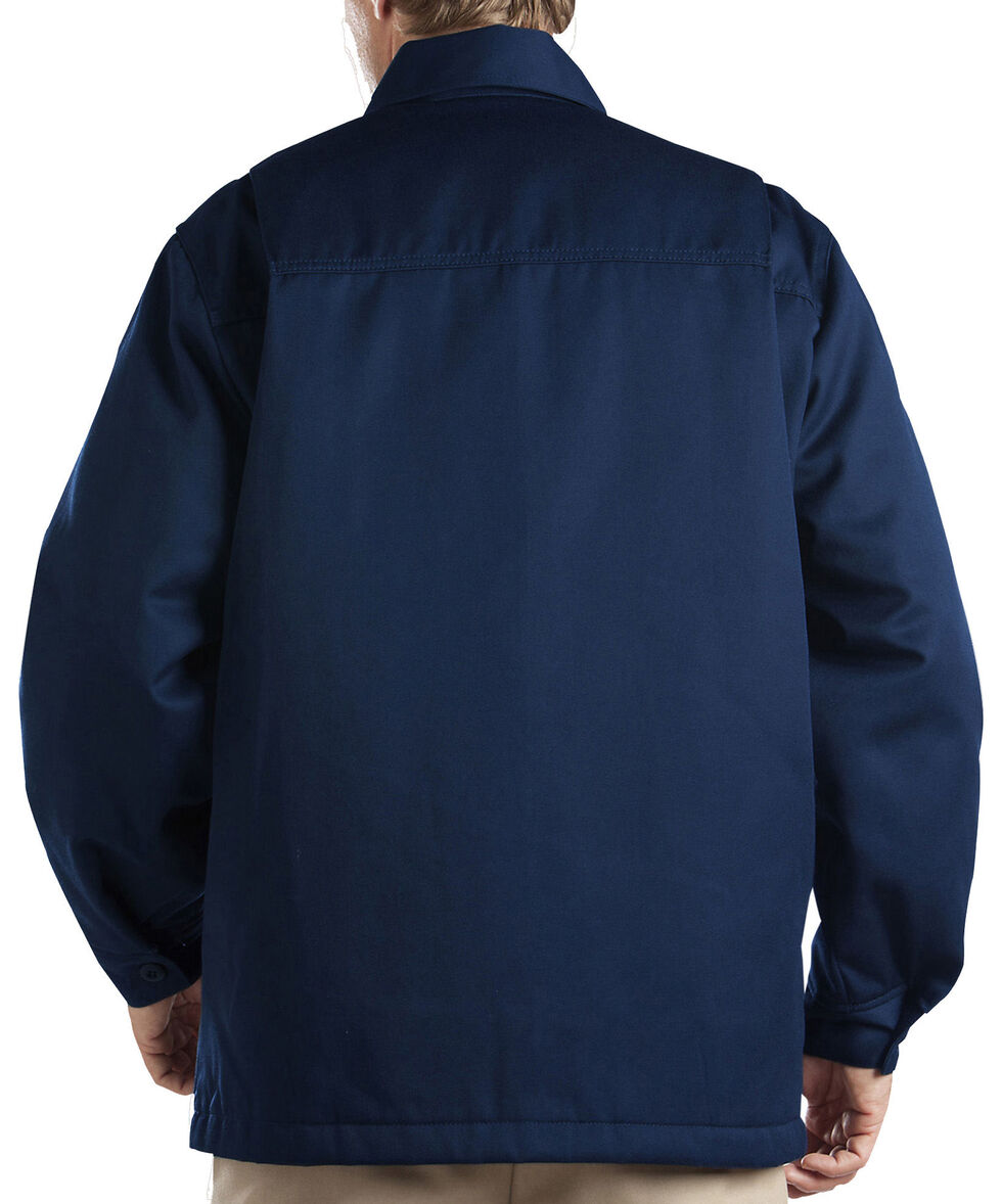 Dickies Insulated Twill Jacket, Navy, hi-res