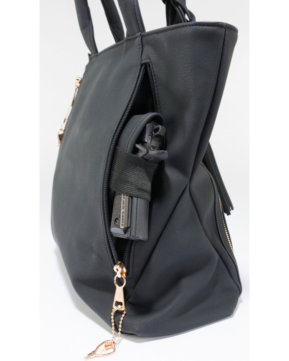 Browning Women's Black Alexandria Conceal Carry Handbag , , hi-res