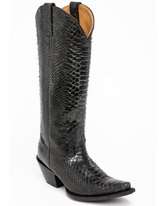 Idyllwind Women's Smok'n Western Boots - Snip Toe, Black, hi-res