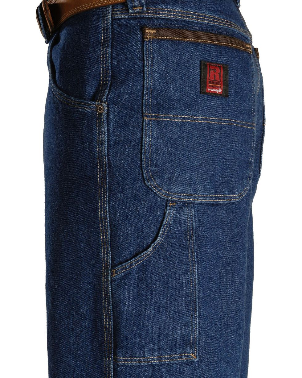 Wrangler Jeans - Riggs Workwear Relaxed Carpenter Jeans, Antique Indigo, hi-res
