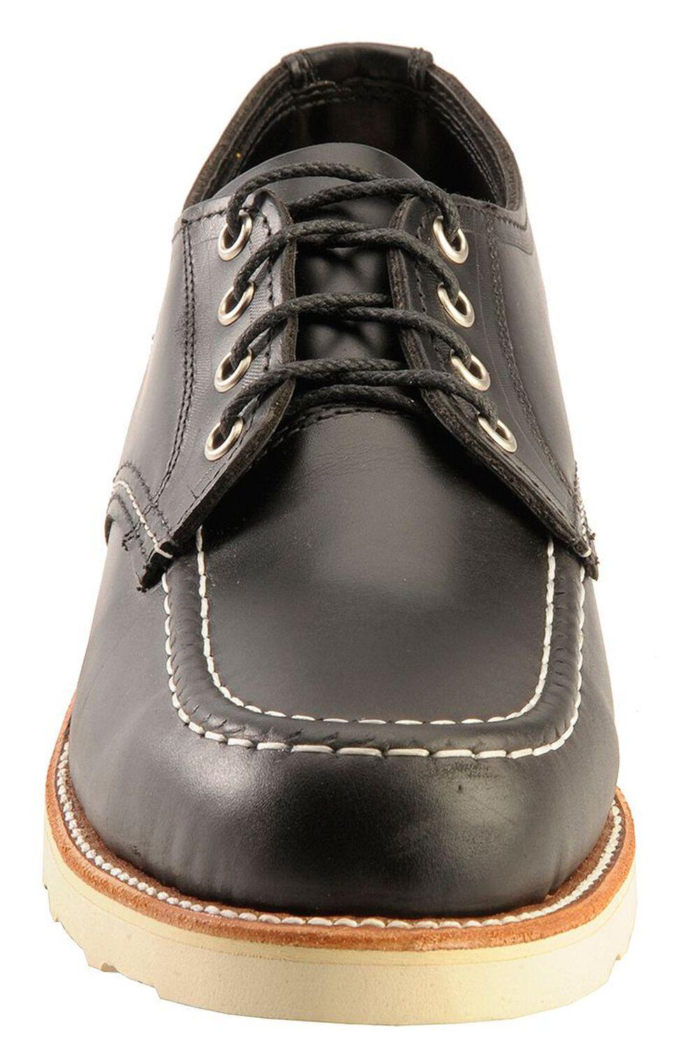 Chippewa Men's Black Whirlwind Oxford Shoes, Black, hi-res