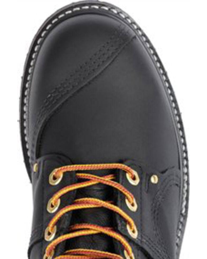 Carolina Men's Black Linesman Workboots - Steel Toe, Black, hi-res