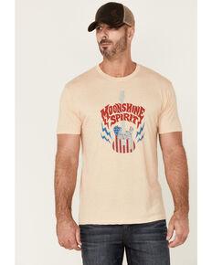 Moonshine Spirit Men's Guitar USA Graphic Short Sleeve T-Shirt , White, hi-res