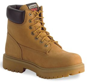 "Timberland Pro 6"" Insulated Waterproof Boots - Soft Toe, Wheat, hi-res"