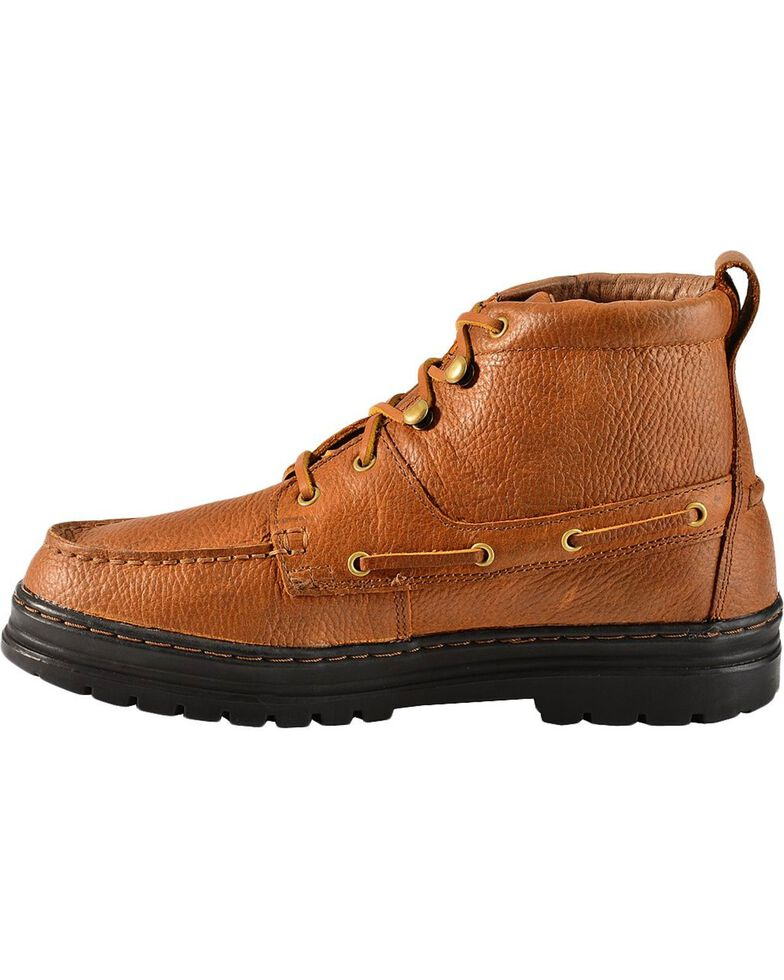 Justin Men's Chip Casual Lace-Up Boots, Copper, hi-res