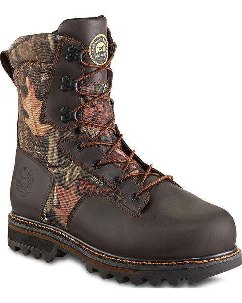 Red Wing Irish Setter Gunflint II Mossy Oak Insulated UltraDry Boots, Camouflage, hi-res