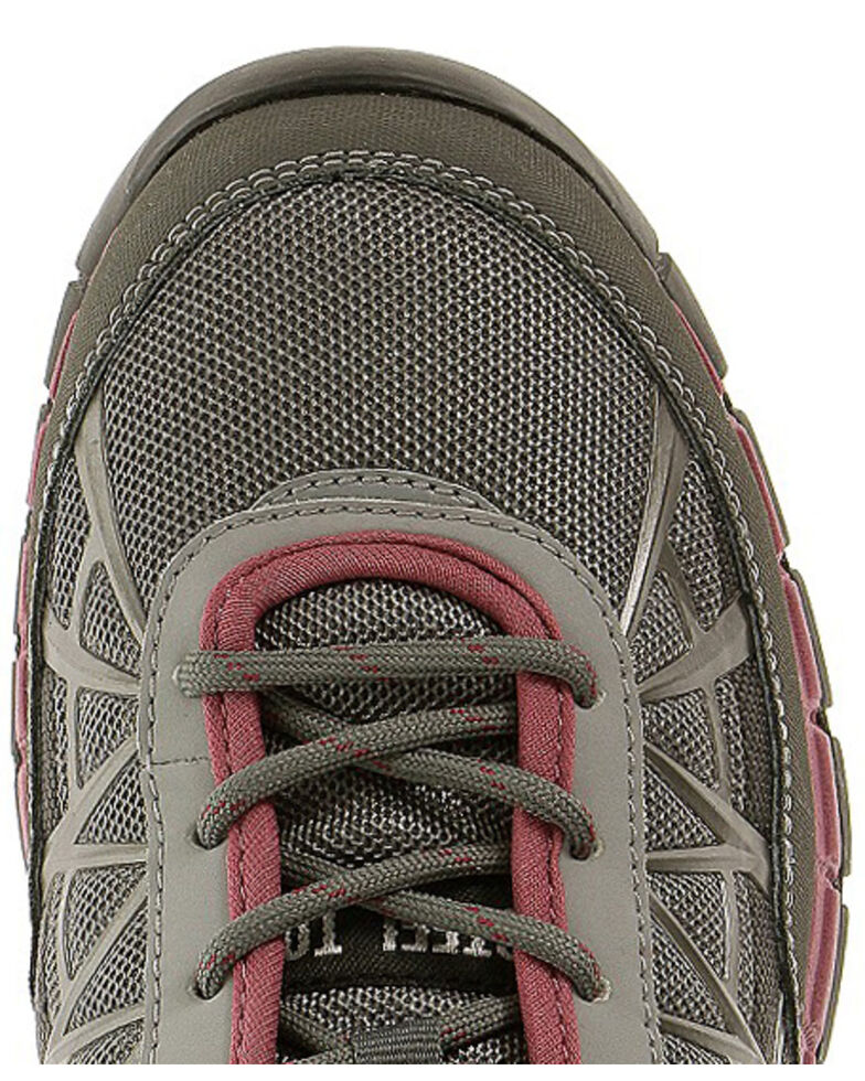 Caterpillar Women's Grey Connexion Work Shoes - Steel Toe , Grey, hi-res