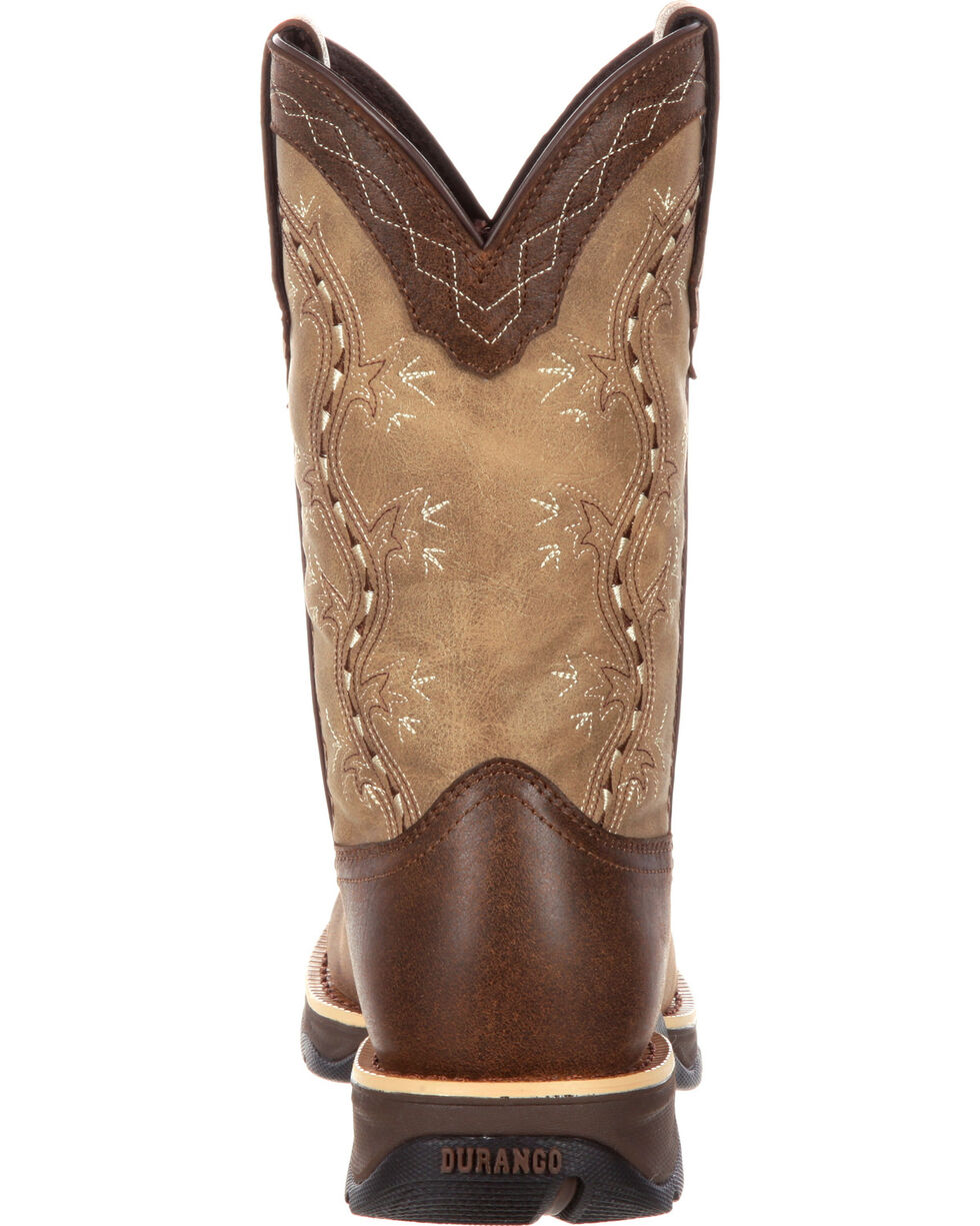 Durango Women's Brown Lady Rebel Western Boots - Round Toe , , hi-res