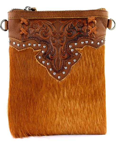 Montana West 100% Genuine Leather Clutch/Crossbody Bag, , hi-res