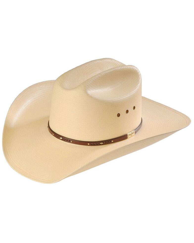 Resistol Men's George Strait Men's Palo Duro 8X Straw Cowboy Hat, Natural, hi-res