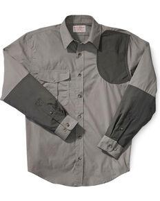 Filson Men's Lightweight Left-Handed Shooting Shirt, Olive, hi-res