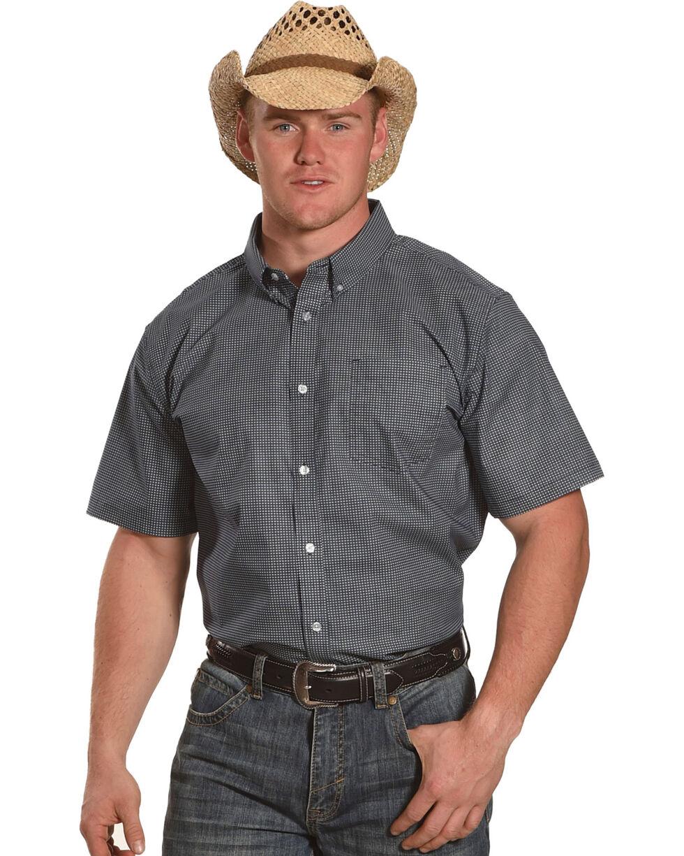 Cody James Men's McKinney Short Sleeve Shirt - Big & Tall, White, hi-res