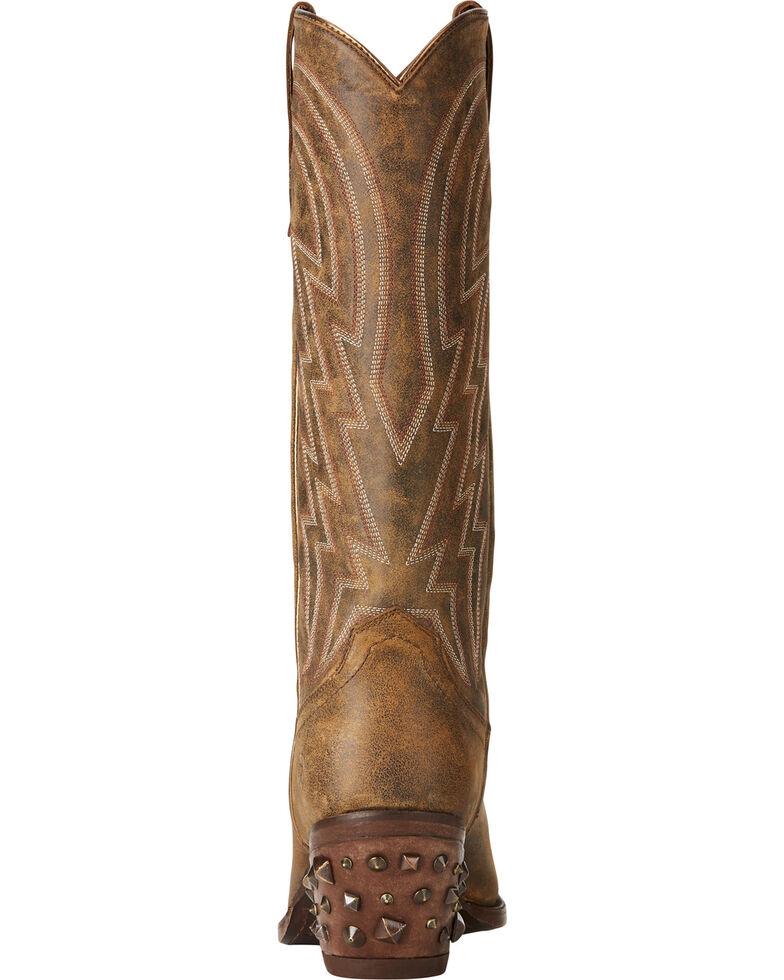 Ariat Women's Brown Diamante Western Boots - Snip Toe , Brown, hi-res