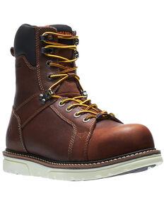 Wolverine Men's Brown I-90 Durashocks Work Boots - Soft Toe, Brown, hi-res