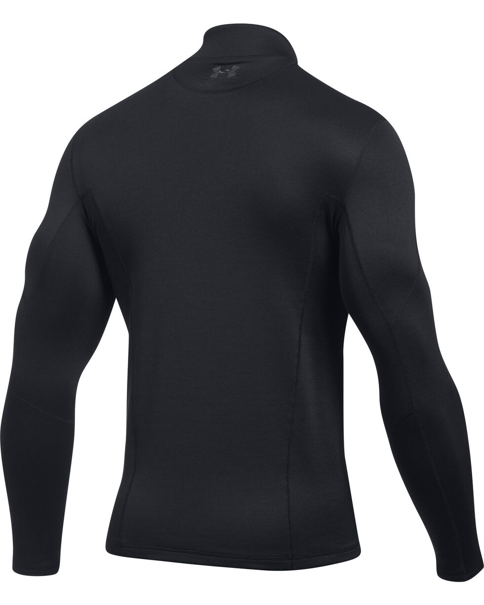 Under Armour Men's Black Ridge Reaper Merino 1/4 Zip Pullover , Black, hi-res