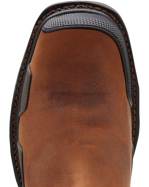 Ariat Overdrive Work Boots - Composite Toe, Toast, hi-res