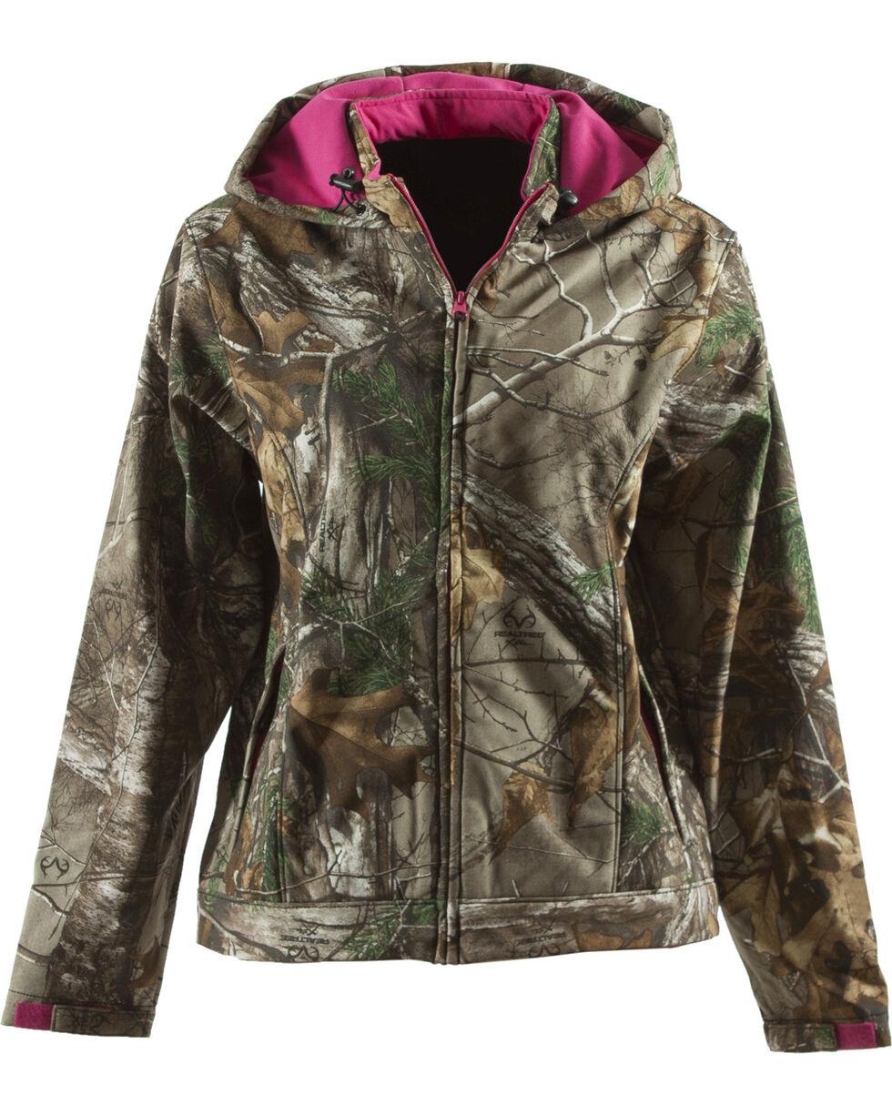 Berne Women's Huntress Softshell Jacket, Camouflage, hi-res