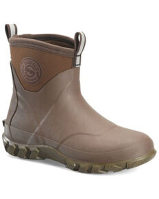 Double H Men's Mud Jumper Waterproof Rubber Boots - Soft Toe, Brown, hi-res