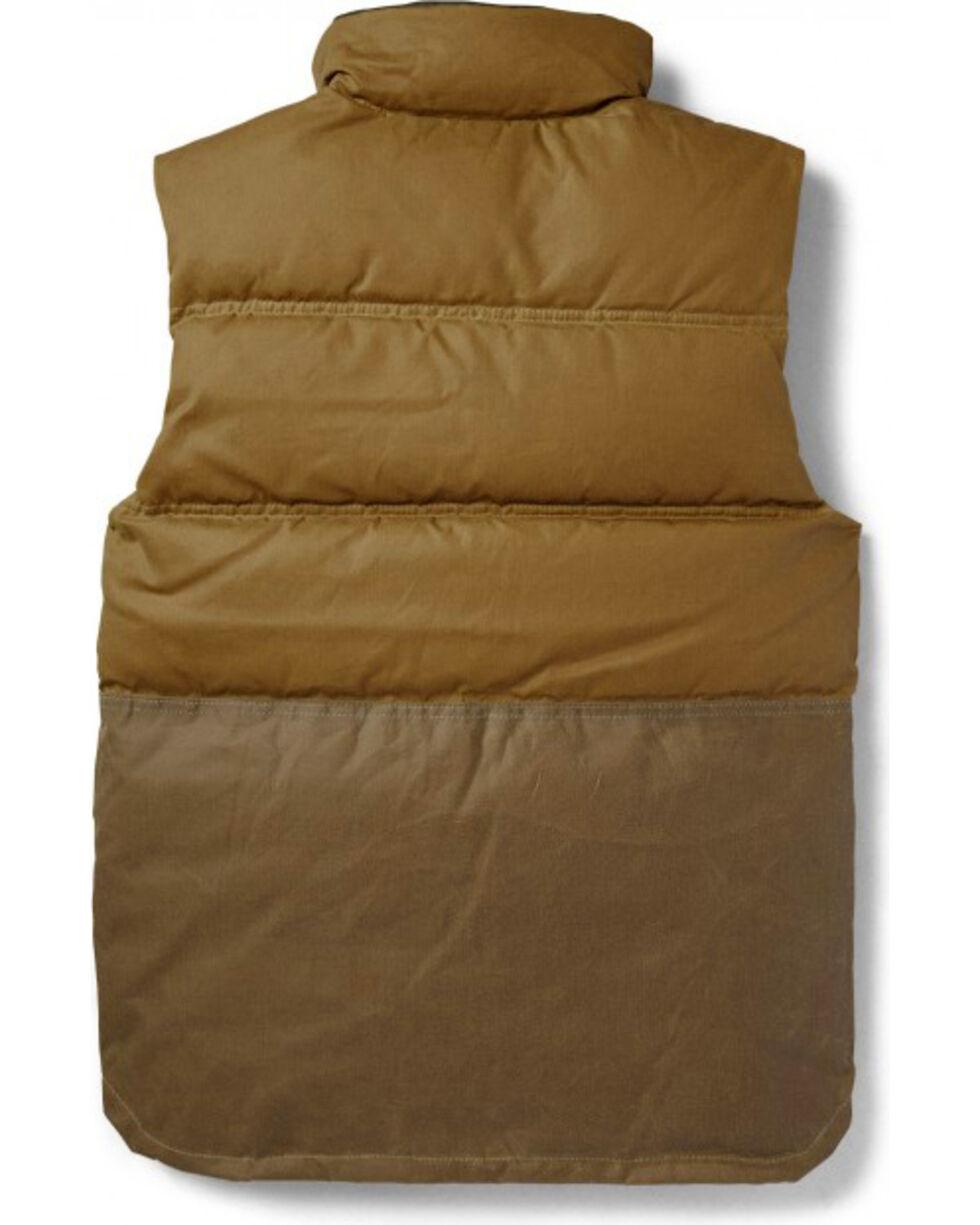 Filson Men's Down Cruiser Vest, Tan, hi-res