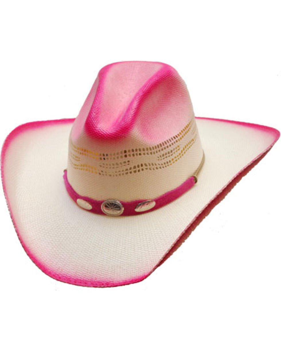 Western Express Women's Georgia Hot Pink Cowgirl Hat, , hi-res