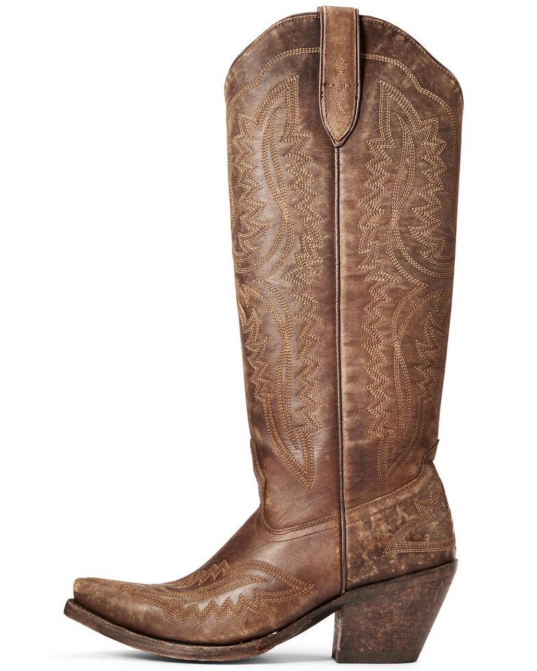 Ariat Women's Casanova Western Boots - Snip Toe, Brown, hi-res