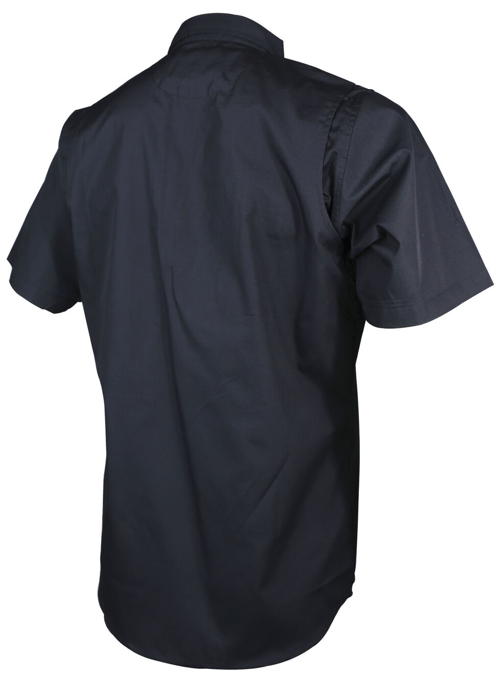 Tru-Spec Men's Black 24-7 Short Sleeve Dress Shirt , Black, hi-res