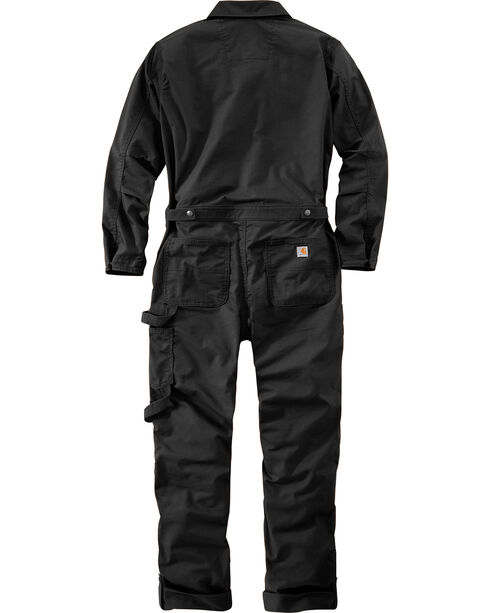 Carhartt Women's Black Smithville Coveralls , Black, hi-res