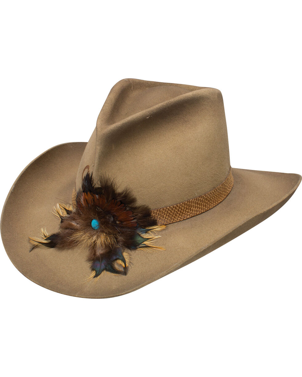 Charlie 1 Horse Khaki Sturgis Felt Hat , Beige/khaki, hi-res