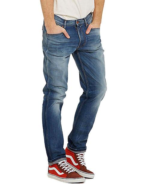 Wrangler Men's Blue Greensboro Retro Glory Jeans - Straight Leg , Blue, hi-res