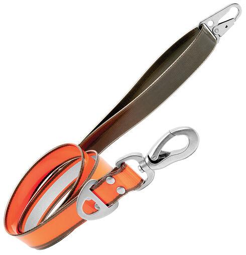 Browning Orange 4ft x 1in Pet Leash , Orange, hi-res