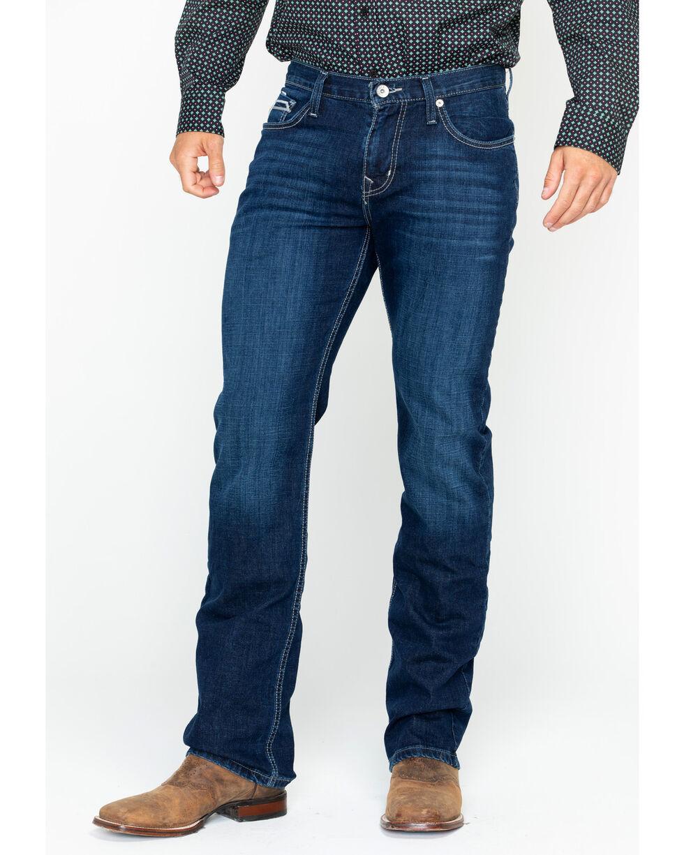 Cinch Men's Ian Slim Fit Straight Leg Jeans, Indigo, hi-res