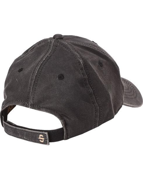 Stetson Men's Anniversary Edition Oil Skin Ball Cap, Black, hi-res