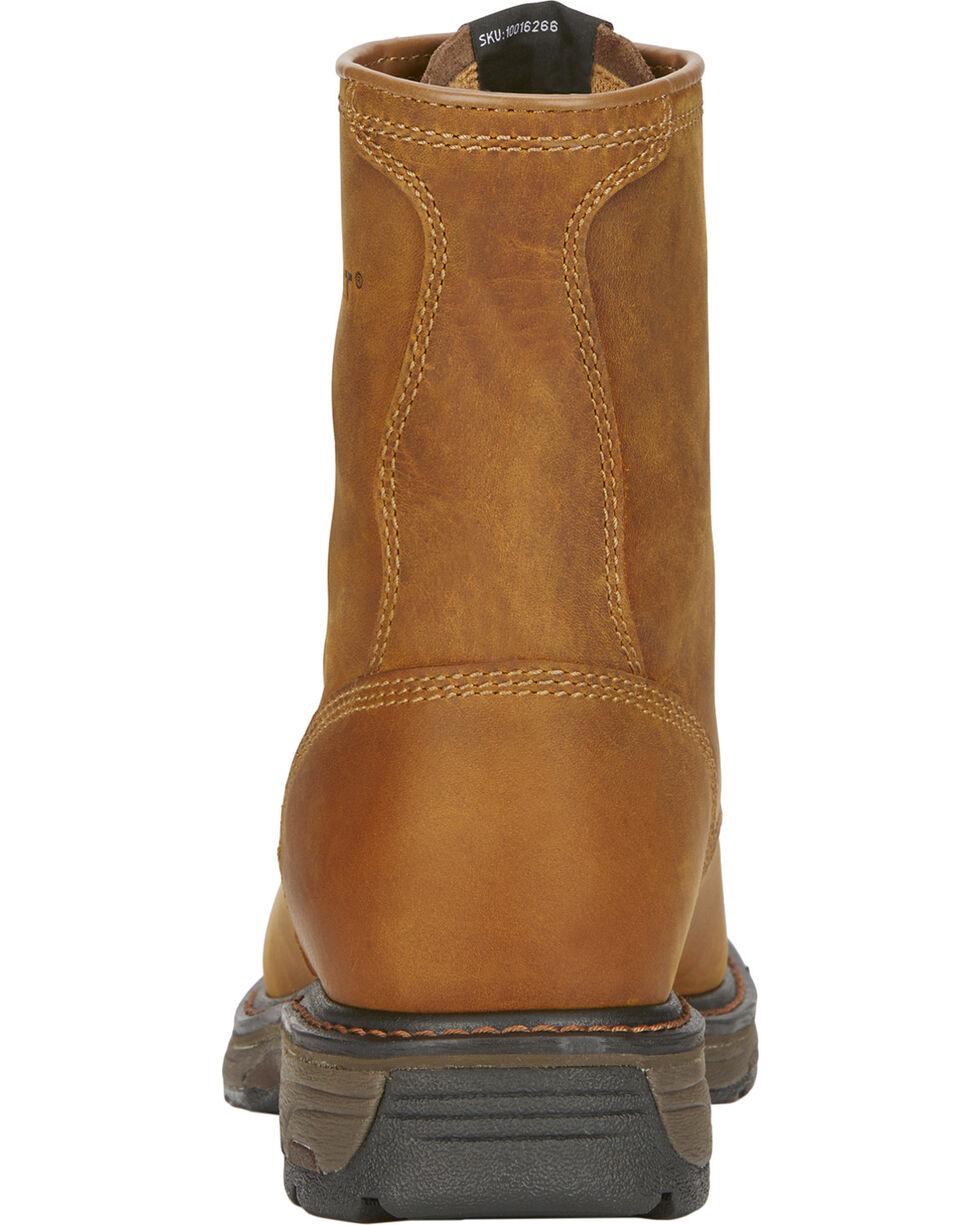 "Ariat Men's Workhog 8"" Lace-Up Work Boots, Aged Bark, hi-res"